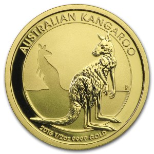 Kangaroo 1/2 troy ounce gouden munt 2016