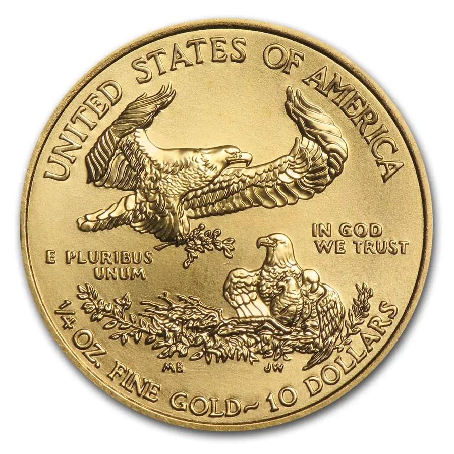 American Eagle 1/4 troy ounce gouden munt 2016