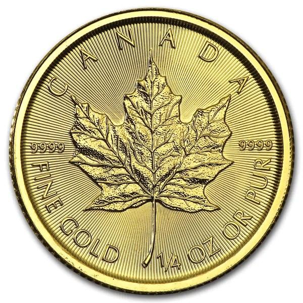 Maple Leaf 1/4 troy ounce gouden munt 2016