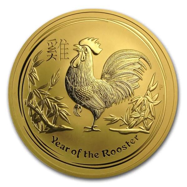 Lunar Haan 10 troy ounce gouden munt 2017