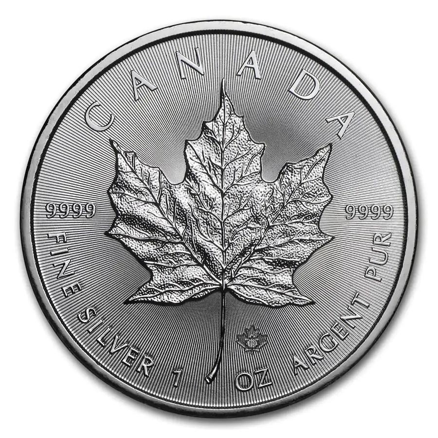 Maple Leaf 1 troy ounce zilveren munt