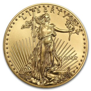 American Eagle 1 troy ounce gouden munt 2020