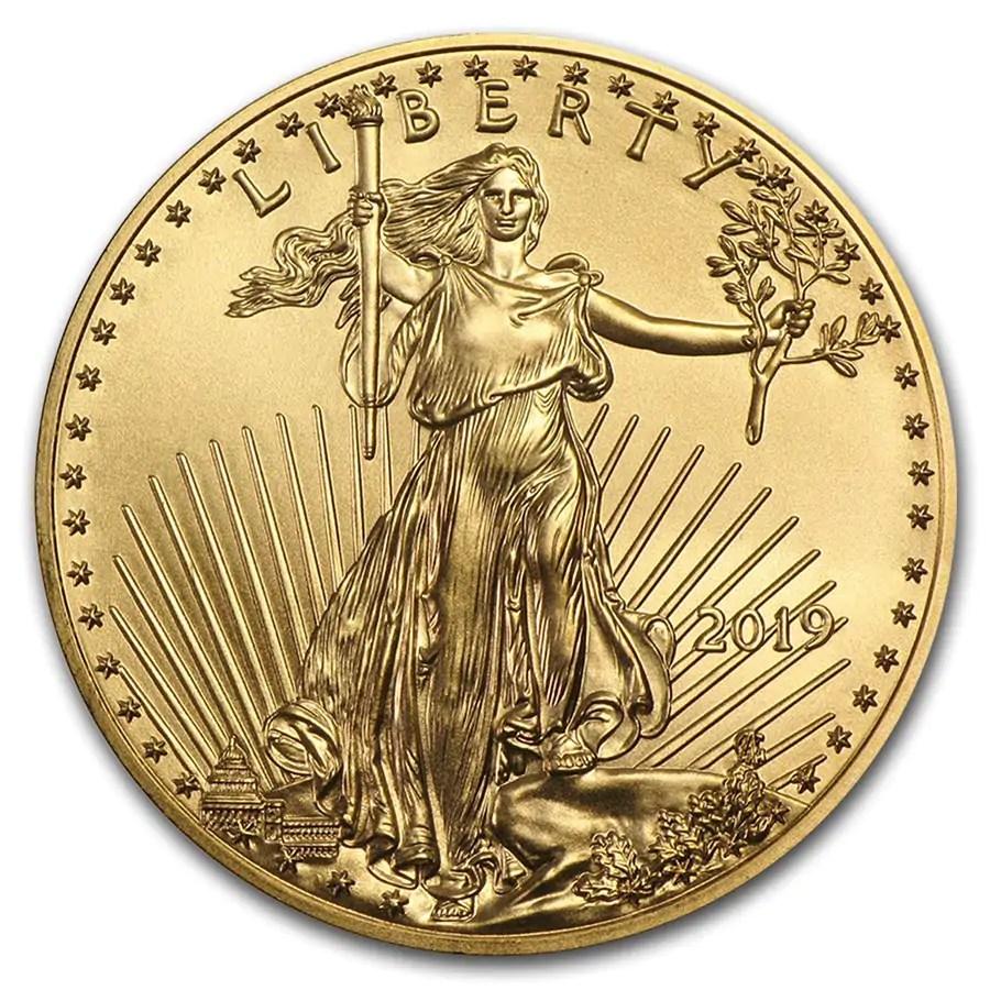 American Eagle 1/2 troy ounce gouden munt 2019