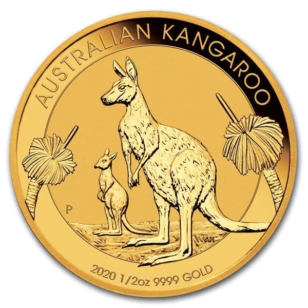 Kangaroo 1/2 troy ounce gouden munt 2020