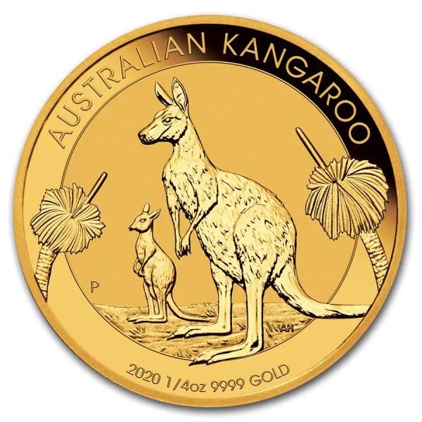 Kangaroo 1/4 troy ounce gouden munt 2020