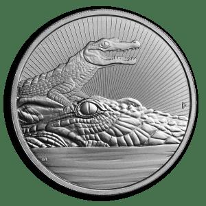 Crocodile Piedfort 2