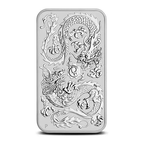 Rectangular zilveren munt 2020