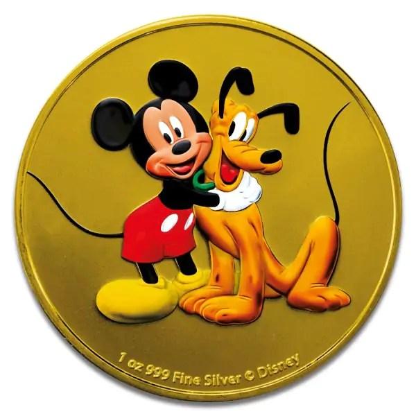 Mickey & Pluto