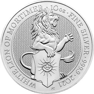 Lion 10 troy ounce