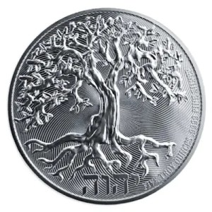 Niue Tree of Life 5 troy ounce zilveren munt 2021