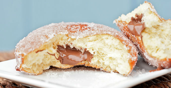 doughnut recipe nutella