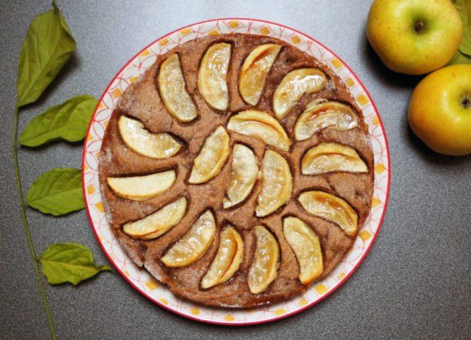 gateau facile aux pommes sans beurre