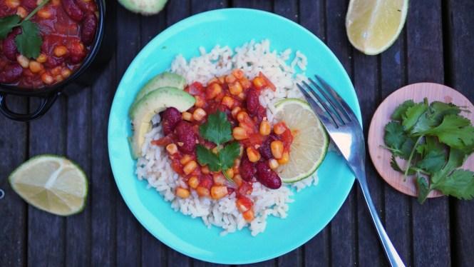 chili sin carne vegan