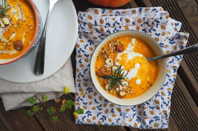 soupe courges curry