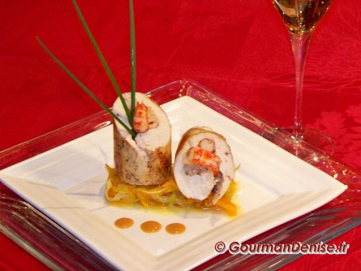 Ballottine-de-poulet-aux-ecrevisses