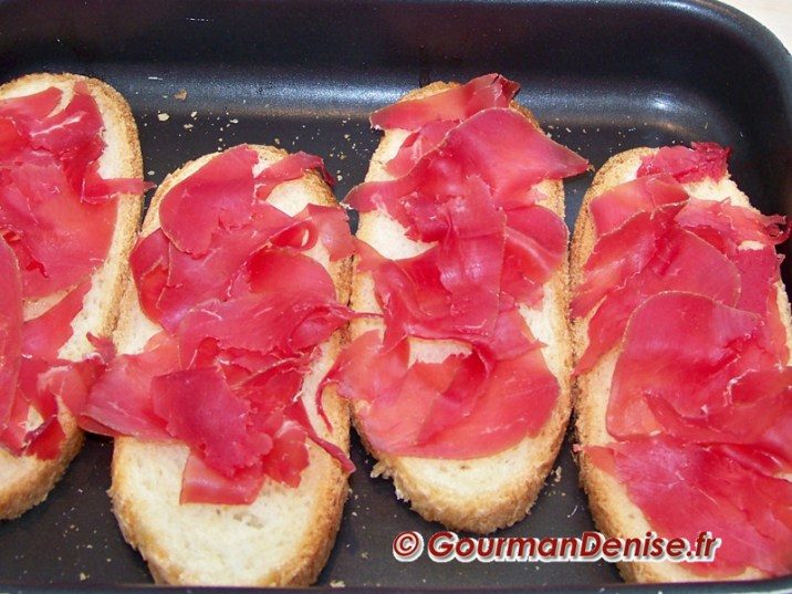 tartines aux figues