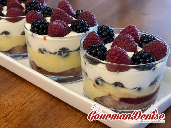 Trifle fruits