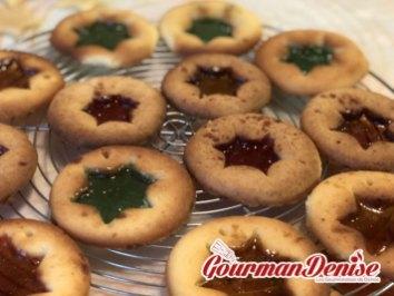 biscuits vitraux noël