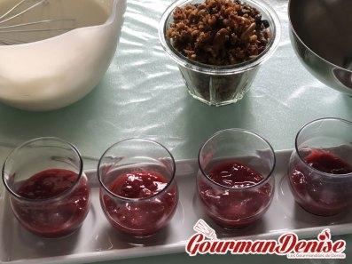 verrines muesli fruits rouges