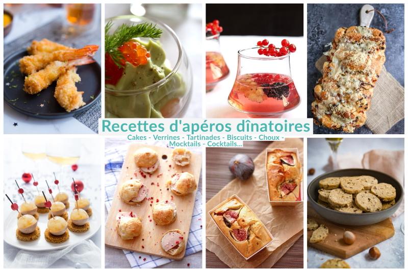 idees recettes pour apero dinatoires et