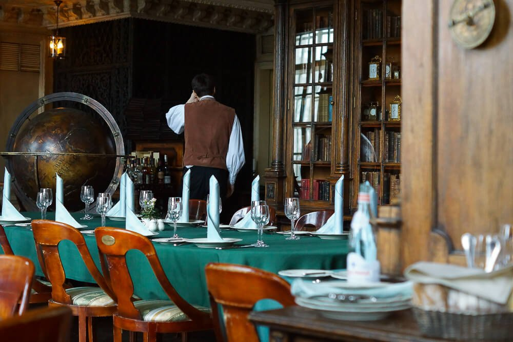 Restaurant Cafe Pushkin Moscow