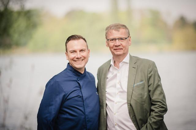 Tim Raue & Günther Jauch