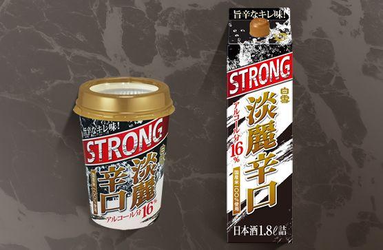ストロングブーム日本酒にも ア...