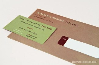 image of business card and envelope