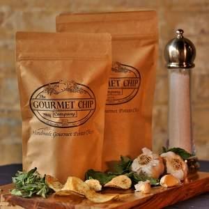 garlic herb potato chips