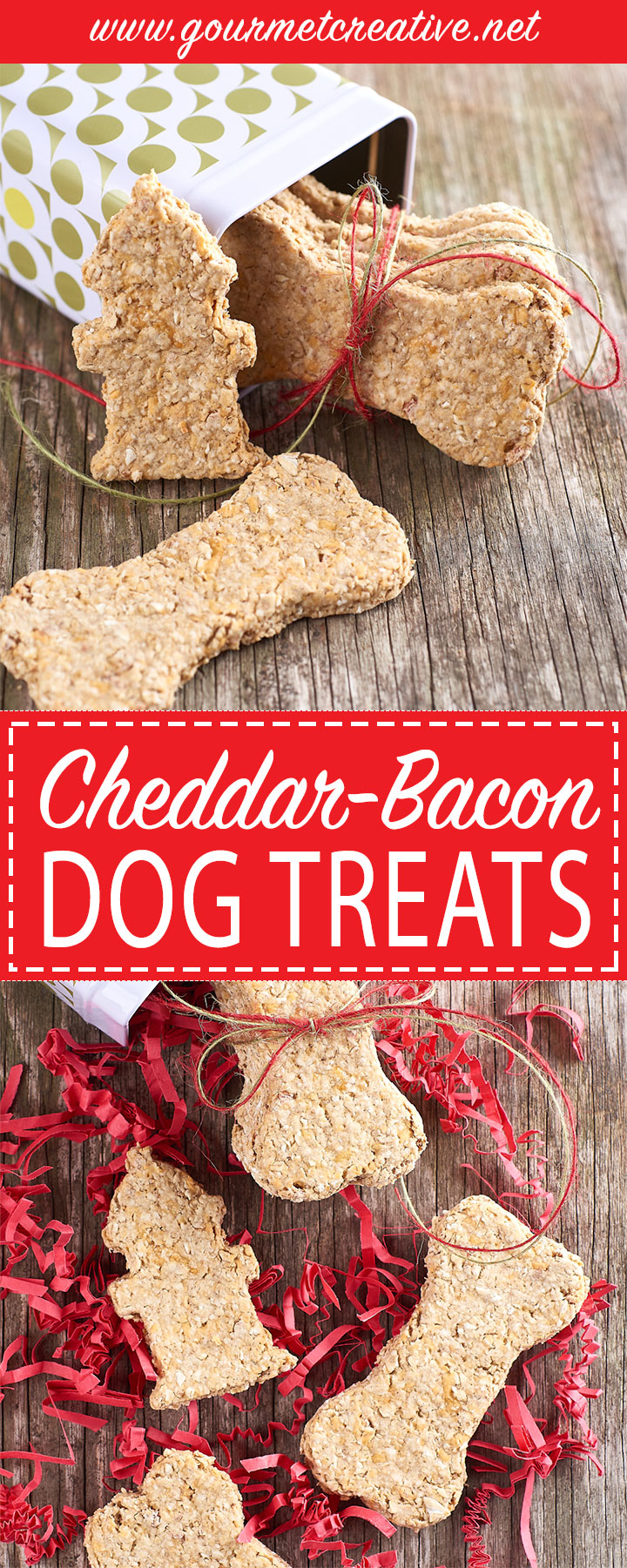 Cheddar Bacon Dog Treats