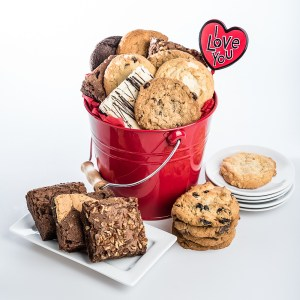 Photos styled for David's Cookies