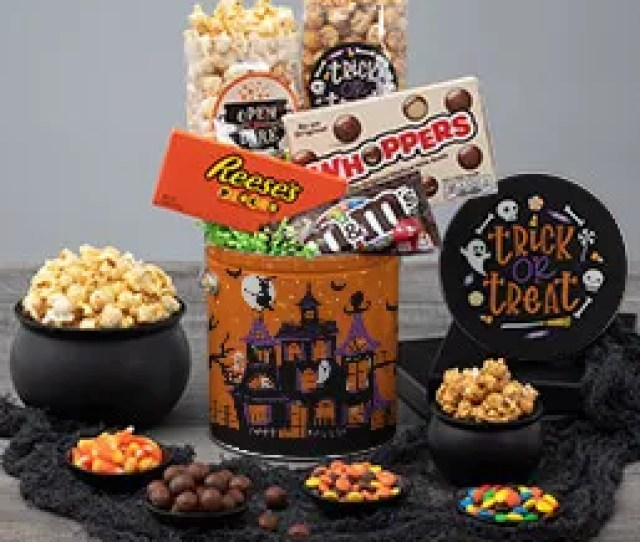Halloween Spooky Snack Tin