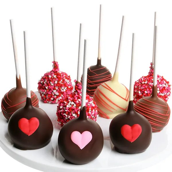 Valentines Day Cake Pops By