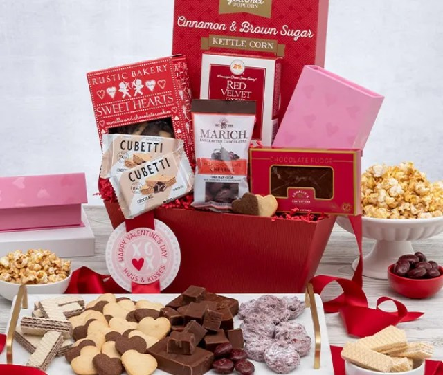 Wild About You Valentines Day Gift Basket