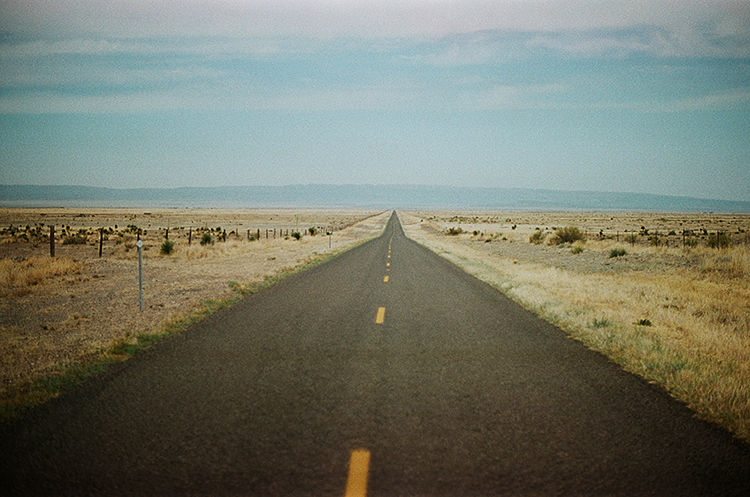 The closest city to Marfa is El Paso, a 3 hour drive through Texas farmlands