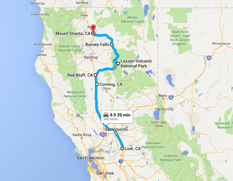 Road trip day 2 - you'll cover a lot of ground today and travel through some of the least-visited parts of California