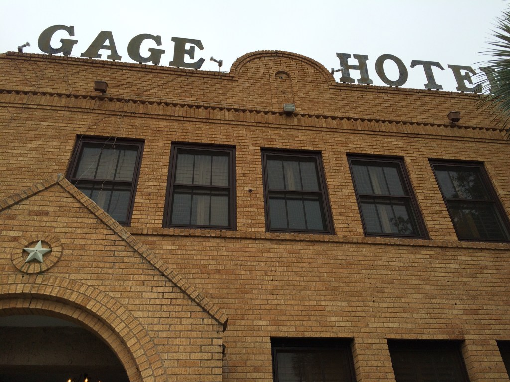 Historic Gage Hotel in Marathon