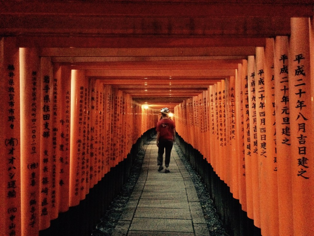 Getting lost in the orange gates at Kyoto's Fushimi Inari Shrine