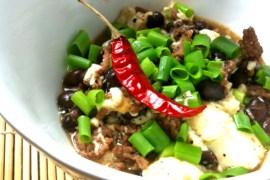 Mapo Doufu – Tofu mit Hackfleisch |GourmetGuerilla.de