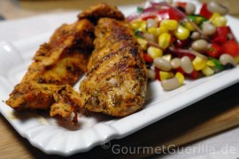 Cajun Chicken mit Black-Eyed-Peas |GourmetGuerilla.de