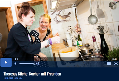 GourmetGuerilla bei Theresa kocht mit Freunden im NDR