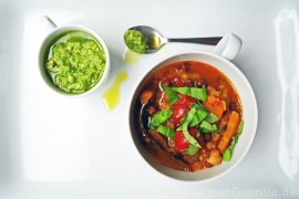 OtooSuppe von zweierlei Kirchererbsen und Tomaten |GourmetGuerilla.de