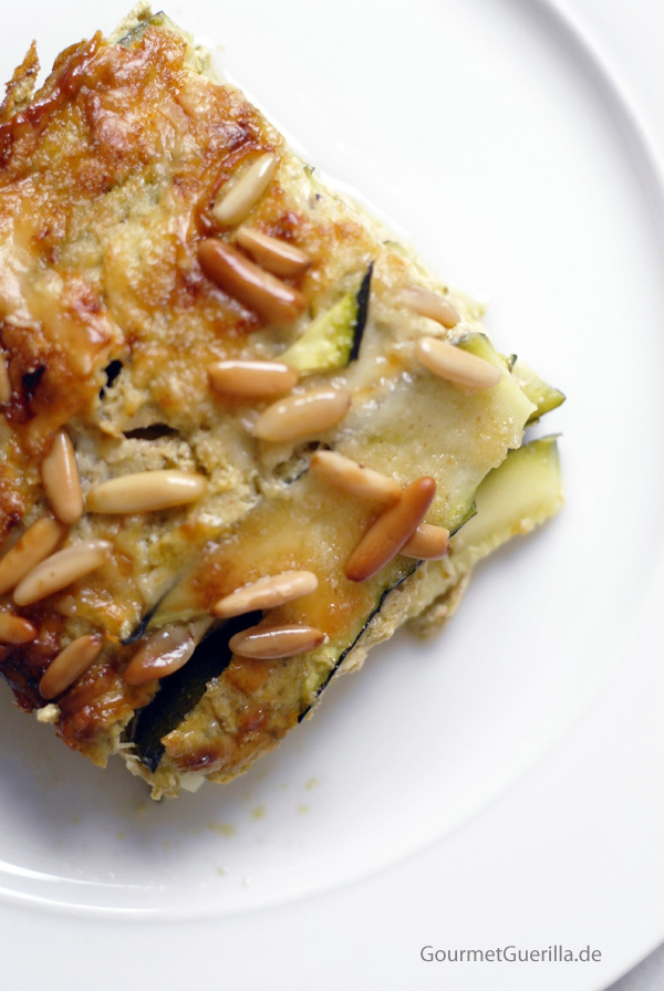 zucchini quark lasagne gourmetguerilla. Black Bedroom Furniture Sets. Home Design Ideas