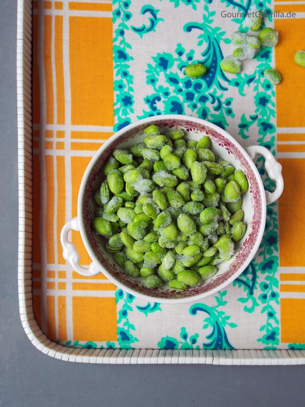 Edamame Sojabohnenkerne gefroren #gourmetguerilla