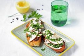 Sommerliches Champignon-Bruschetta #rezept #sommer #menu #gourmetguerilla