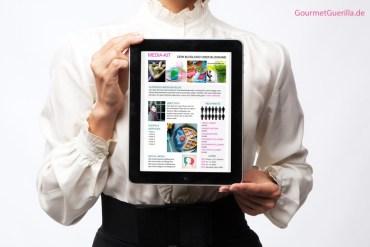 Blogger Media Kit Download Vorlage Template (PowerPoint) |GourmetGuerilla.de