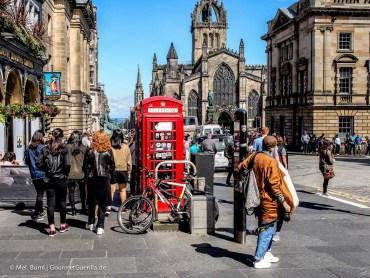 Kurz-Tripp Edinburgh High Street |GourmetGuerilla.de