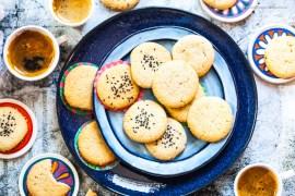 Israelische Tahina Shortbread Cookies - Sesam-Kekse aus nur 5 Zutaten |GourmetGuerilla.de
