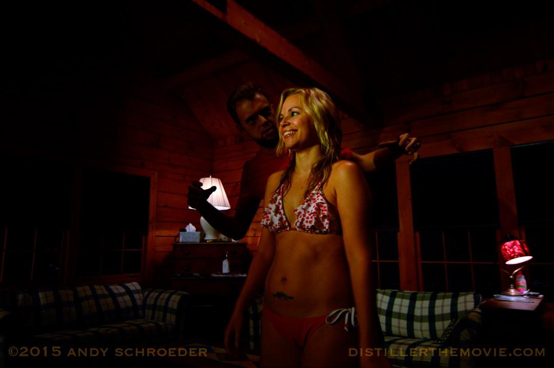 Dan Noonan and Amy Ciupek in 'Distiller' (2014)