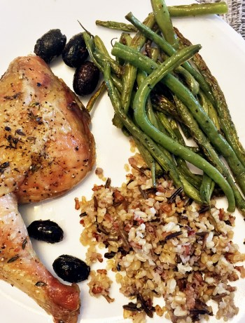 Roasted Chicken and Olives